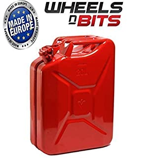 NEW HIGH QUALITY METAL POWER COATED INSIDE AN OUT JERRY CAN 20L LITRE CAN