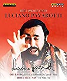 Best Wishes from Luciano Pavarotti [Blu-ray] [Import italien]