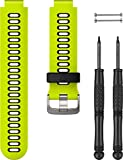 Garmin Watchband Forerunner 735XT Yellow/Black, 010-11251-0M (Yellow/Black)