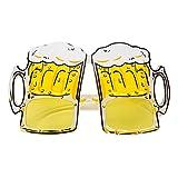 Funny Rotyr Boccali di Birra creativiDivertente Occhiali Tema Festa Discoteca Bar Festa Mascherata Vestire Mostrare Oggetti di Scena