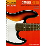 Hal Leonard Electric Bass Method - Complete Edition: Contains Books 1, 2, and 3 in One Easy-to-Use Volume