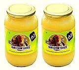 Shree Radhey A2 Gir Cow Ghee - 900 Grams X 2 (Traditional Bilona Churned)