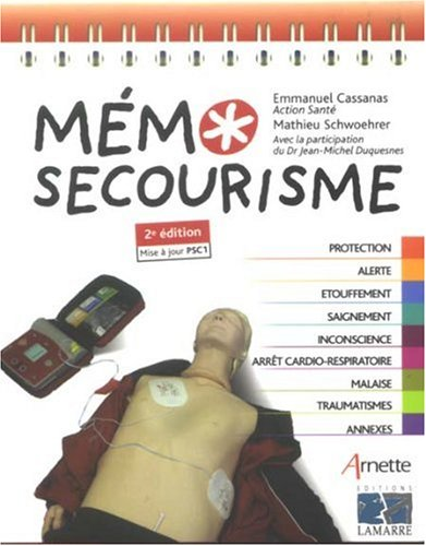 MEMO SECOURISME 2E ED