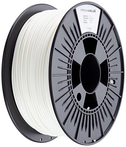 PrimaCreator PrimaValue 3D Drucker Filament - PLA - 2,85 mm - 1 kg - Weiß