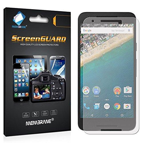 Membrane 3 x Bildschirmschutzfolie kompatibel mit LG Nexus 5X - Kristallklar