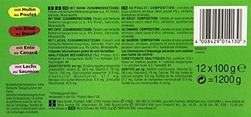 Kitekat Katzenfutter Bunte Vierfalt in Soße, 48 Beutel (1 x 48 x 100 g) - 6