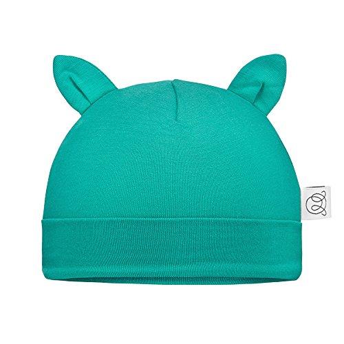 Maylily® premium   bello cappellino per neonati e bebè con piccole orecchie   0-3 mesi e 3-6 mesi   bambù organico   anti allergico   made in eu   disponibile in vari colori