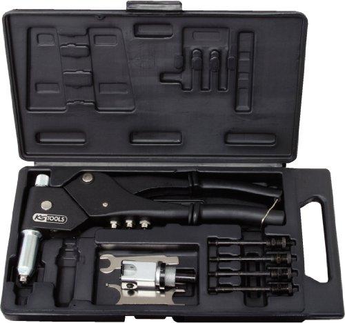 KS Tools 150.9610 Coffret de pinces à rivets écrous aveugles et chevilles tête pivotante pas cher