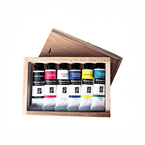 jack-richeson-casein-artist-colors-in-wood-box-set-of-6-by-jack-richeson
