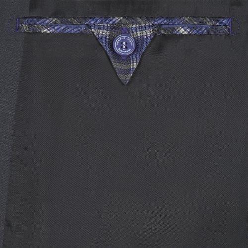 Purple Label by Benvenuto Herren Anzugsjacke Slim Fit 61283206571283 Baukasten Grau (1283 Lakritze 2)