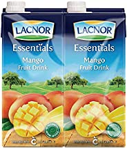 Lacnor Essentials Mango Fruit Drink - 1 Litre (Pack of 4)