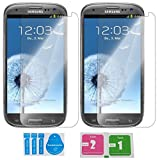 2x »Samsung Galaxy S3« Panzerglas Displayschutzfolie   Blasenfrei   Ultra-HD   Bruchsicher   Rytek Panzerglasfolie ►lebenslange Garantie