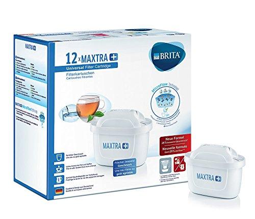 Brita Filterkartuschen Maxtra+ 12er Pack weiß -