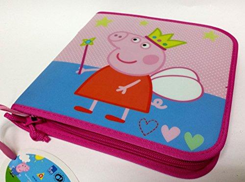 portacolori 1cremallera Peppa Pig Puerta colores escuela Bolígrafos Estuche New oferta 201