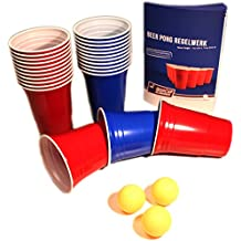 Step Pong Beer Pong Rack 3-D Bier Pong für Rote Partybecher Red Partycups