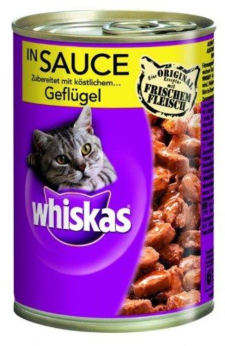 Whiskas, carne bianca in salsa, lattina, 400g