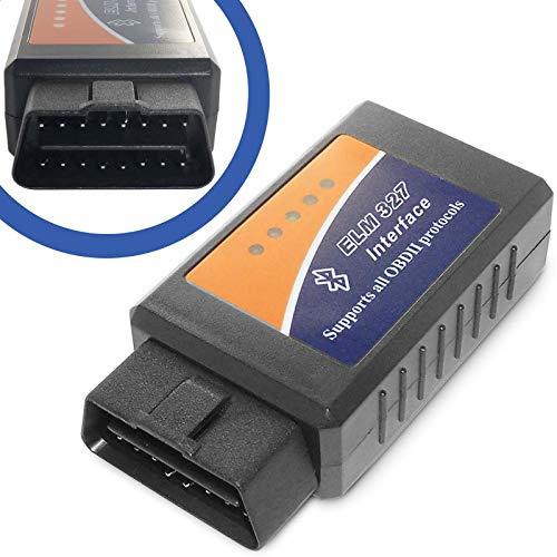 OBD 2 E-327 Bluetooth CAN BUS Interface kompatibel mit VAG VW BMW usw. für ELM327 Software (Legacy Gt 2005)
