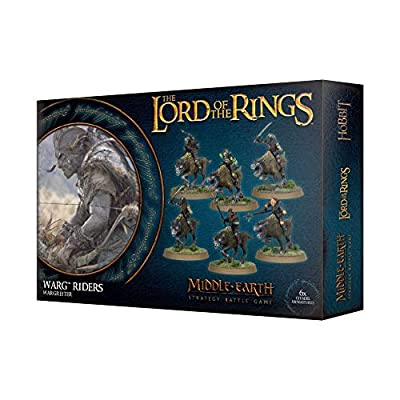 Games Workshop Warg Riders 30-37 - Middle Earth