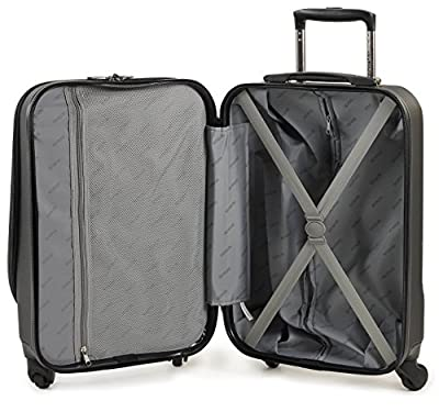 Easyjet Small Trolley Case Hand Luggage Cabin Approoved Hard Shell Suitcases Fits 56x45x25cm Easyjet/BA Cabin Carry On Restrictions