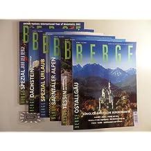 Berge - Das internationale Magazin der Bergwelt : kompletter Jahrgang 2002 [6 Hefte].