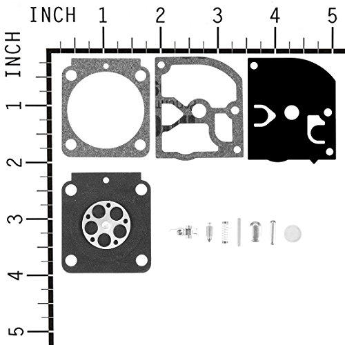 sourcing map Vergaser Carb Überholsatz Dichtung für Stihl BG55 Trimmer Zama RB-100 C1Q-S