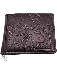 Black Widow Spider Mens Wallet 11cm Nemesis Now