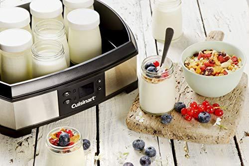Cuisinart YM400E Joghurt- und Frischkäsebereiter (40 Watt) silber - 2