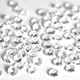 5000 CLEAR WEDDING TABLE DIAMONDS CONFETTI SCATTER CRYSTALS - HIGH QUALITY - FOR 6 TO 8 TABLES