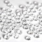 Wedding Bliss 5000 diamantes transparentes de mesa