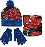 SPIDERMAN HAT, SNOOD AND GLOVES SET by Jujak®
