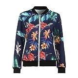 Best Choies Womens Tops - ReooLyWomen Ladies Printing Long Sleeve Tops Zipper Jacket Review