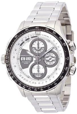 Hamilton Women's 45mm Steel Bracelet & Case Sapphire Crystal Automatic Silver-Tone Dial Watch H77726151
