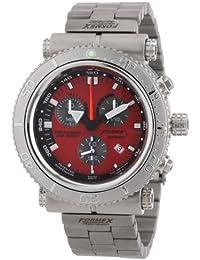 Formex 4 Speed DS2000 - Reloj para caballero de acero inoxidable rojo