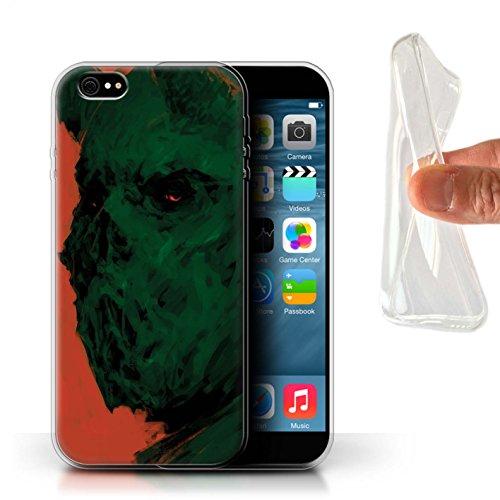 Offiziell Chris Cold Hülle / Gel TPU Case für Apple iPhone 6+/Plus 5.5 / Teufel/Tier Muster / Wilden Kreaturen Kollektion Ungeheuer/Troll