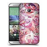 Head Case Designs Schmetterlinge Wilder Wald Ruckseite Hülle für HTC One M8 / M8 Dual SIM