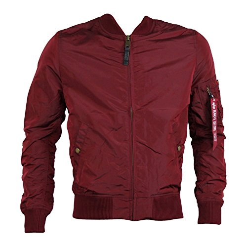 ALPHA INDUSTRIES Fliegerjacke MA-1 TT burgundy