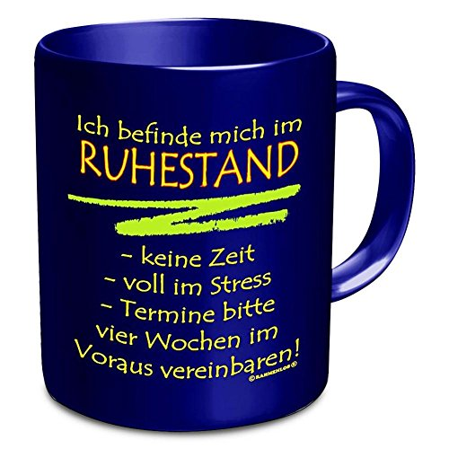 Shirt Zauber Fun Tasse - Ruhestand - Linkshänder-shirt