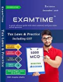 #3: Examtime 5000 MCQ on tax laws and practice by cma anupama shukla for cs executive Dec 2018 Exam
