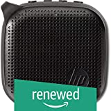 (Renewed) HP Mini 300 Bluetooth Speakers (Black)