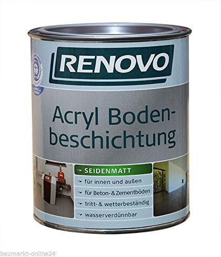 Acryl Bodenbeschichtung 5 L RAL 7030 Steingrau Renovo