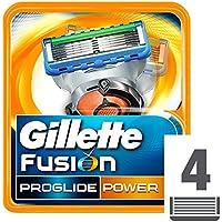 Gillette Fusion Proglide Power Lamette Di  Ricambio - 4 Ricariche