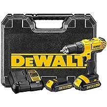 DEWALT DCD771C2-QW - Taladro Atornillador XR 18V 13mm 42Nm con 2 baterías Li-Ion 1,3Ah y maletín