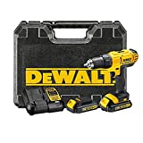 DeWALT DCD771C2 Pistol grip drill Lithium-Ion (Li-Ion) 1.3Ah 1650g Black,Yellow - Cordless Combi Drills (Pistol grip drill, Drilling, Black, Yellow, 1.3 cm, 3 cm, 1.3 cm)