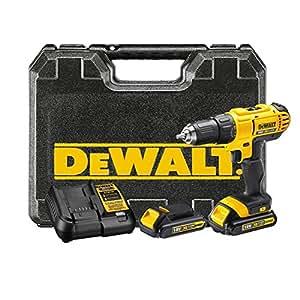 Dewalt DCD771C2-QW Perceuse-visseuse, 18 V, Jaune/noir