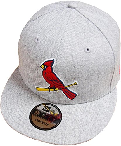 on sale 5f886 96b70 A NEW ERA Era St. Louis Cardinals Heather Grey MLB Snapback Cap 9fifty  Limited Edition