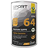 Raab Vitalfood Protein-Suppe Lupine-Curcuma, herzhafte Alternative zu Protein-Shakes, Eiweiß-Drink, vegan, nach dem Training, Fitness, laborgeprüft, 360 g
