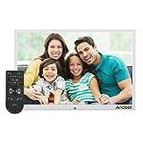 Andoer 15.4inch LED Digital Photo Frame 1280 * 800 Resolution 1080P Aluminum Alloy
