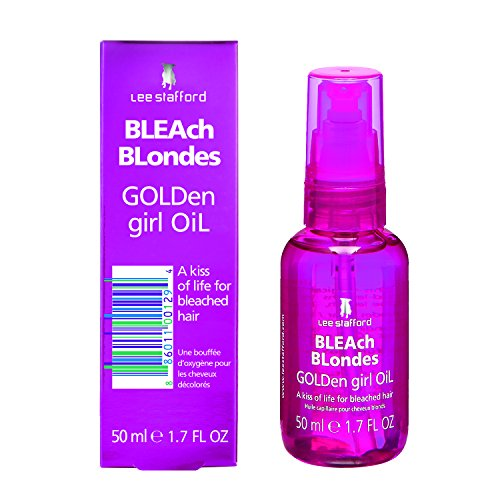 Lee Stafford Bleach Blondes Golden Girl Huile à Cheveux 50 ml