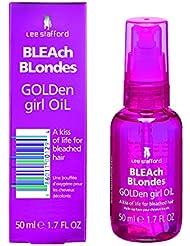 Lee Stafford Bleach Blondes Golden Girl Huile à Cheveux 50 ml