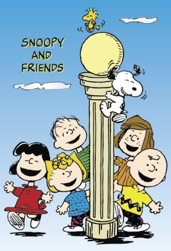 Close Up Peanuts Snoopy & Friends Poster - Poster Großformat (69,7cm x 101,6cm)